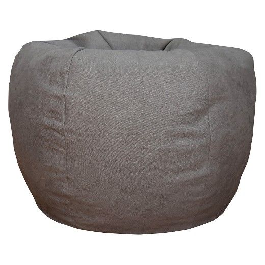 This generously sized Extra Large Bean Bag is the epitome of comfort. Our superior quality fabric in Brushed Denim Fog lends to an updated polished look, making this Extra Large Bean Bag a classy addition to your homeat an affordable price.