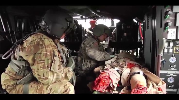 Unbelievable Wounded Robot Medevac Training