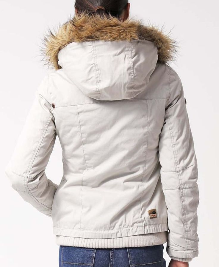 Only winterjacke beige