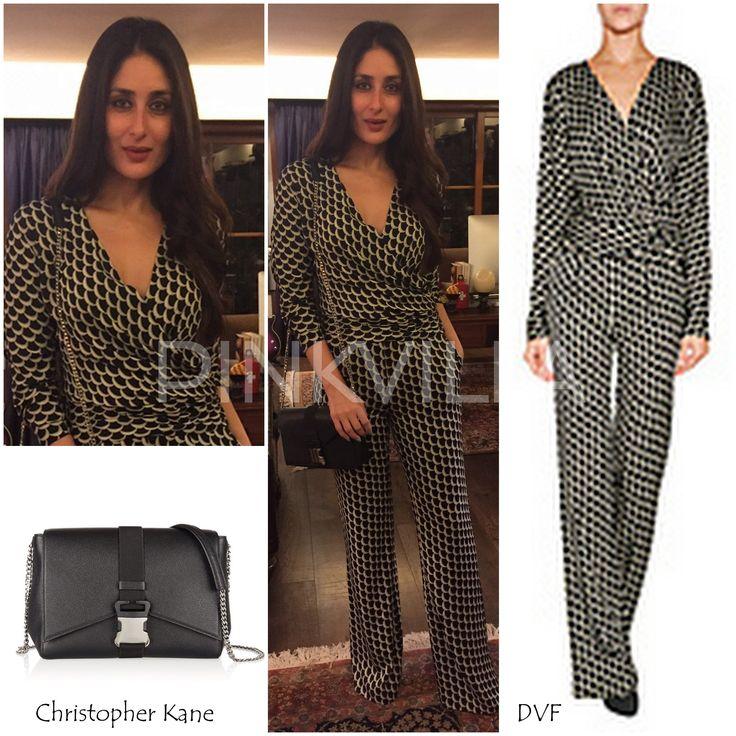 Yay or Nay : Kareena Kapoor in DVF and Christopher Kane