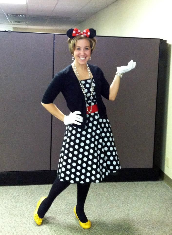 office halloween ideas. creative halloween costume for the office minnie mouse ideas s