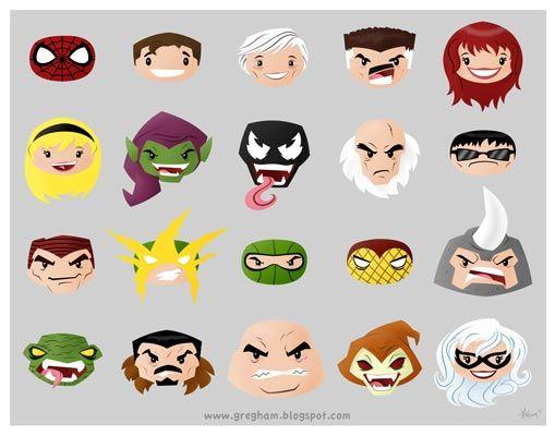 spid_noggins_lowres_web.jpg (image): Hero, Hams, Spidey Noggins, Spiderman, Art, Spider Man, Comics, Spid Noggins Lowres Web Jpg