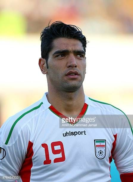 Reza Haghighi of Iran looks on during the AFC Asian Cup Qualifier between Iran and Kuwait on March 3 2014 in Tehran Iran