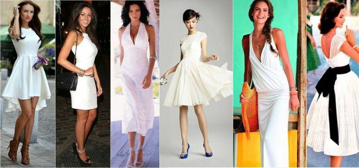 Белые летние платья фасон - Поиск в Google