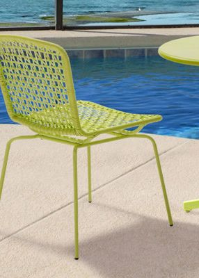 The easiest way to add a little color to your backyard!