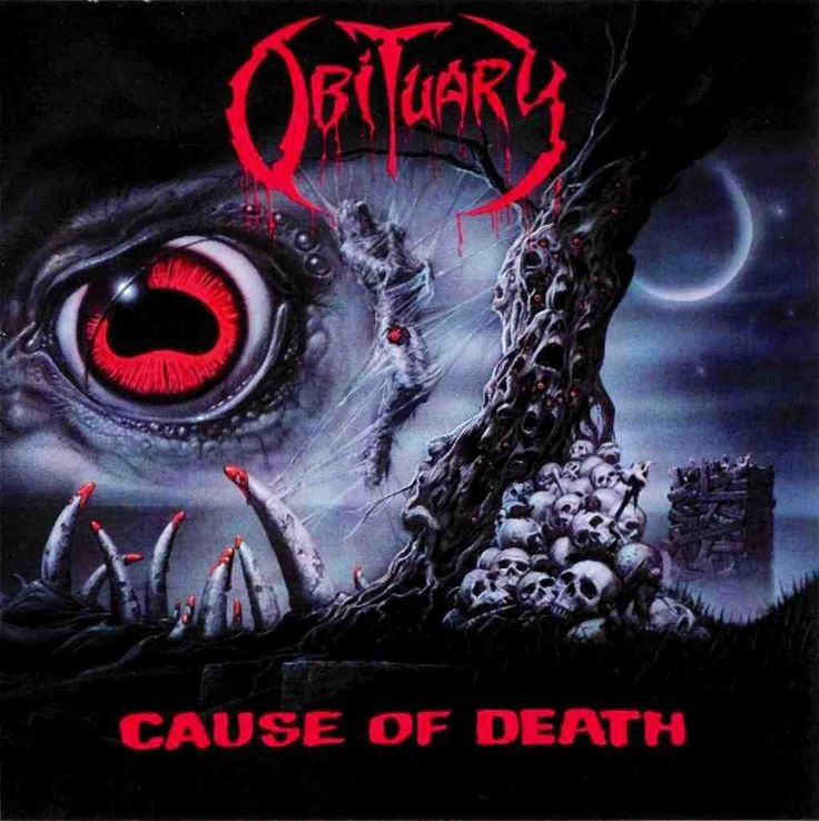 OBITUARY - Cause Of Death (Roadrunner Rec. 1990)
