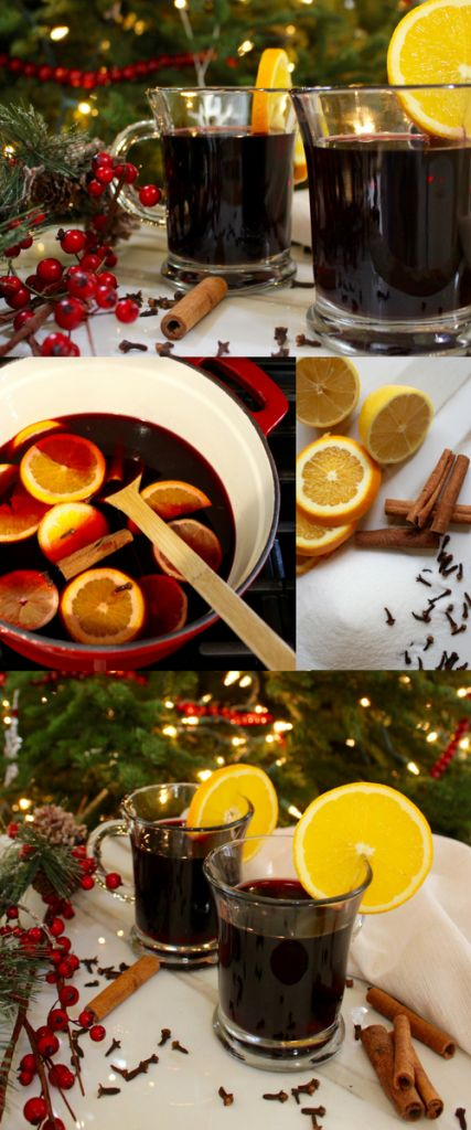 Glühwein is a traditional holiday drink in Germany that tastes just like Christmas. Basically, it's red wine, infused with the festive flavors of cloves, cinnamon, and citrus. It's served piping hot in a glass, and it's everything you need in your life. This Christmas drink recipe is perfect for holiday parties, or simply sitting by the fire. Try this traditional German glühwein recipe (mulled wine recipe) this holiday season!
