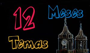 12 Meses - 12 Temáticas