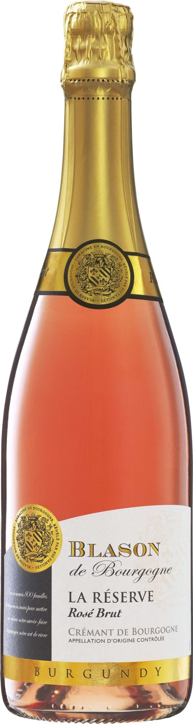 """Mousserande<br><span class=""""wasp-icon""""></span><span class=""""wasp-icon""""></span><span class=""""wasp-icon""""></span><span class=""""wasp-icon""""></span><span class=""""wasp-icon""""></span><br><strong>Blason de Bourgogne Crémant de Bourgogne Rosé Brut<br>(7687) Frankrike, 99 kr</strong><br>Ren, frisk och torr smak med toner av vinbär, smultron, mineraler och färskt bröd. Gott till en lax- och räktartar."""