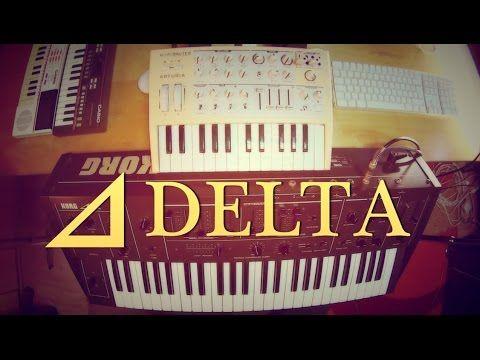 Korg DELTA/Arturia Microbrute video | Δ Delta | Dimitris Dermanis