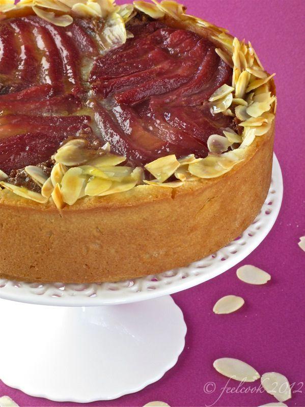 FeelCook cucina per passione: Crostata frangipane con pere al vino