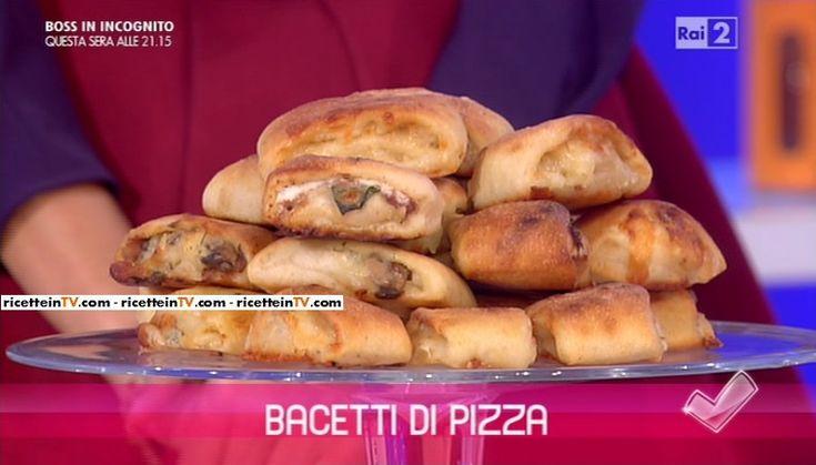 """""""Detto Fatto"""": la ricetta dei bacetti di pizza di Gianfranco Iervolino del 12 gennaio 2016."""