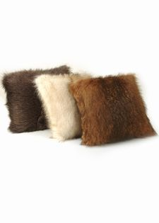 Fur Pillows-Knitted Fur Pillows-Three Colors $399