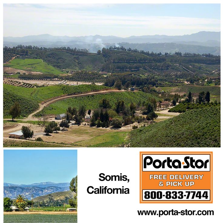 Do you need to Rent Storage Containers in Somis, California? Call Porta Stor at 1-800-833-7744 to Rent Storage Containers in Somis.