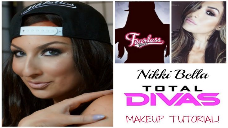 WWE | Total Divas Nikki Bella Makeup Tutorial