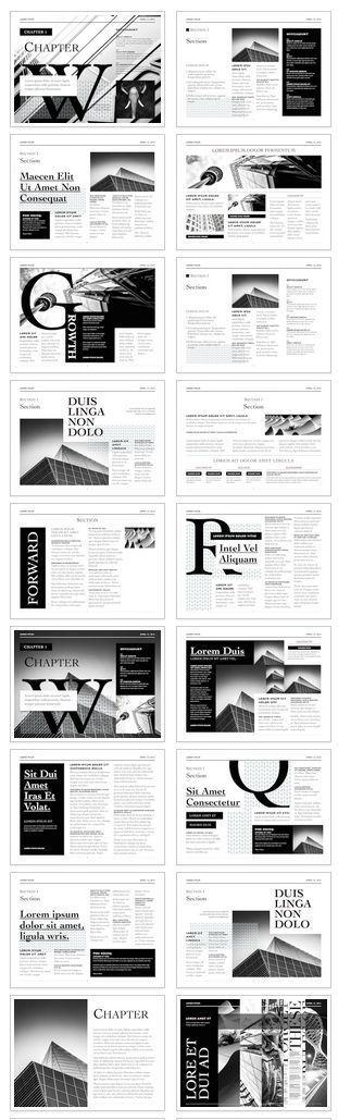 23 Best Newspaper Templates Images On Pinterest Editorial Design