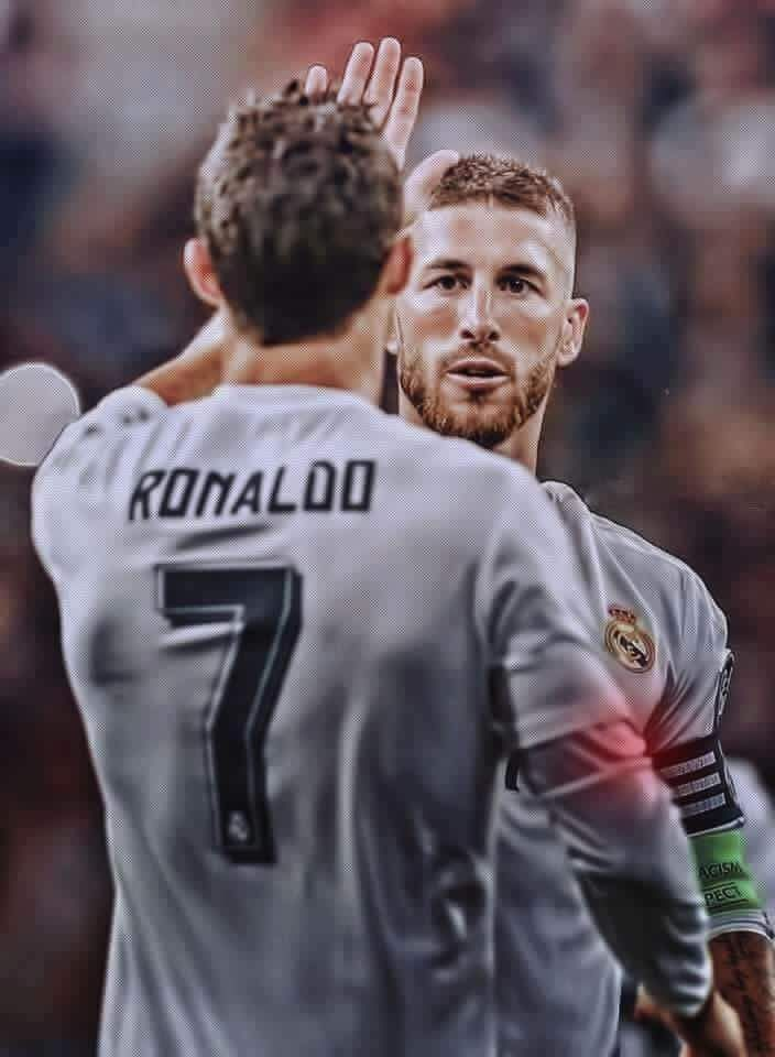 Ramos and Ronaldo. Real Madrid Wallpaper