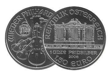 Wiener Silber Philharmoniker Münzen