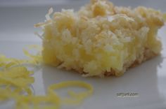 Lemon Squares 1968 | Newfoundland Recipes – saltjunk.com