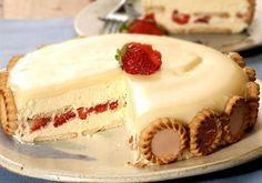 Torta Holandesa de Morango com Chocolate é diferente e muito deliciosa! Sua família e amigos vão adorar! Veja também: Torta Holandesa Fácil Torta Alemã Tor