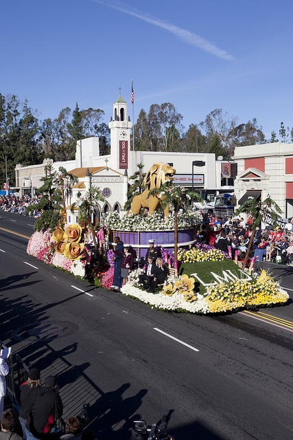 Iggy was the centerpiece of our 2012 Rose Parade float.