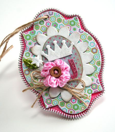 the zipper trim tag: July Stanton, Pre 2015, Cards Ideas, Maya Roads, 2015 Cards, Bookmarks Art, Julia Stainton, Zippers, Paper Crafts