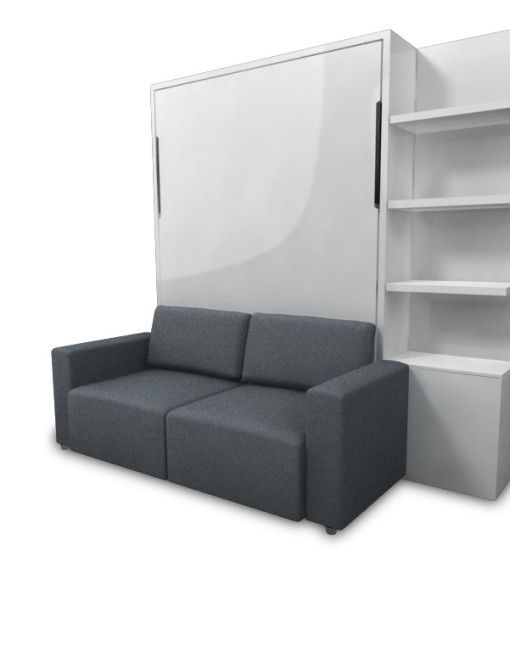 Murphysofa clean wall bed expand furniture converts your space and room to be more efficient - Expand furniture ...