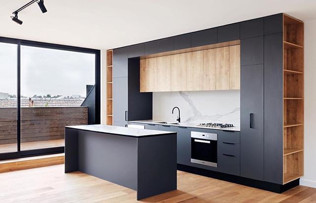 Shirley Lane, Armadale Project - Kitchen detailing Designed by Fieldwork Architects & built by Mancini Made Developed by Everly Projects #kitchendesign #kitchendetails