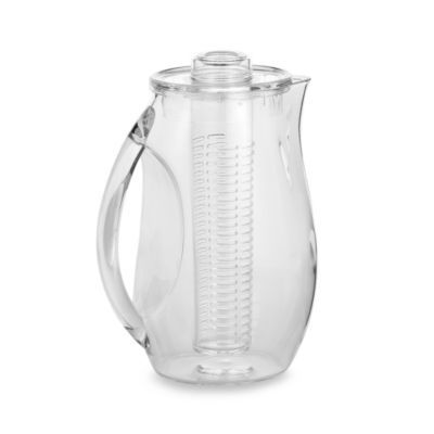 Prodyne Fruit Infusion Pitcher - BedBathandBeyond.com $19.99. Love this! So easy to use and you can refill water up to a week.