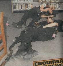 columbine high school massacre crime scene photo