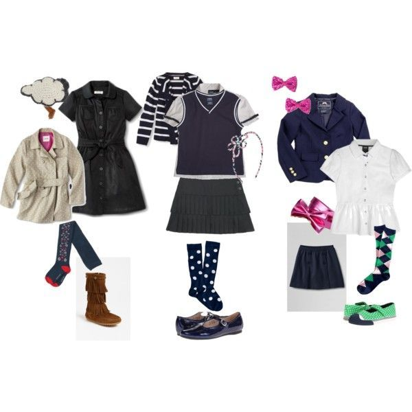 Back to School Uniform Ideas for Navy Uniforms. http://beautymommy.com/2014/08/styling-school-uniform.html