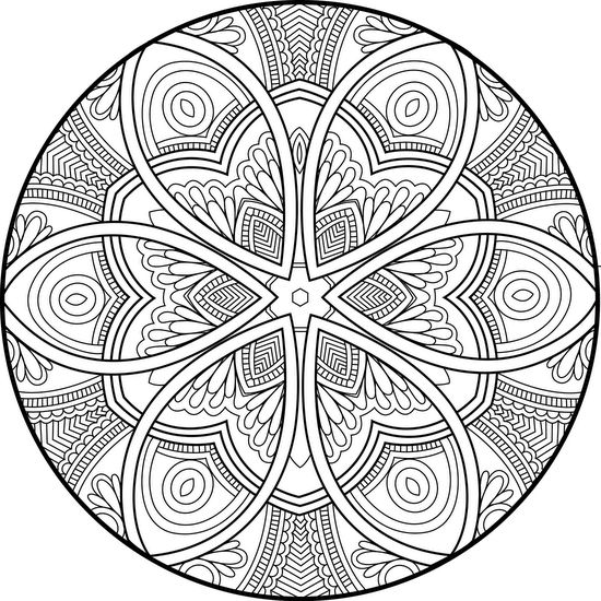 Picture of Hidden Hearts coloring page