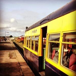 Daylesford Musk vintage train
