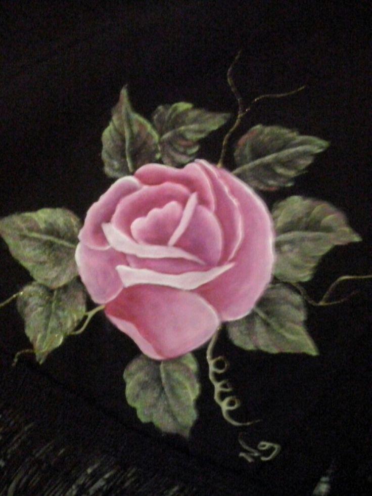 Ng rosa en tela