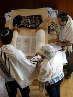 Reading the Torah                                                       …