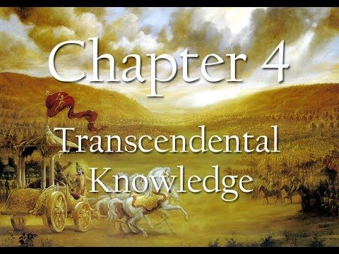 Bhagavad Gita Chapter 4 | Transcendental Knowledge | Science of Identity Foundation