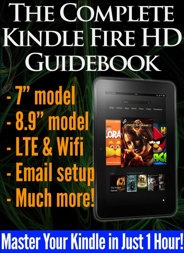 how to read books on kindle fire hd