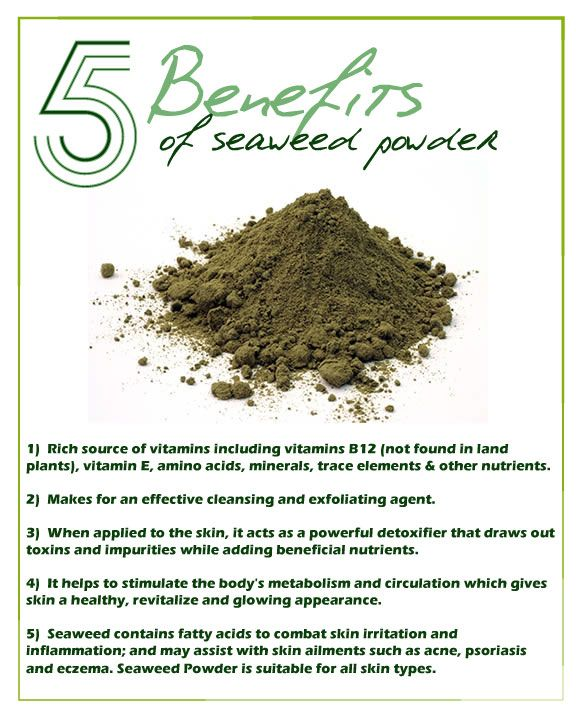 Benefits of Seaweed Powder