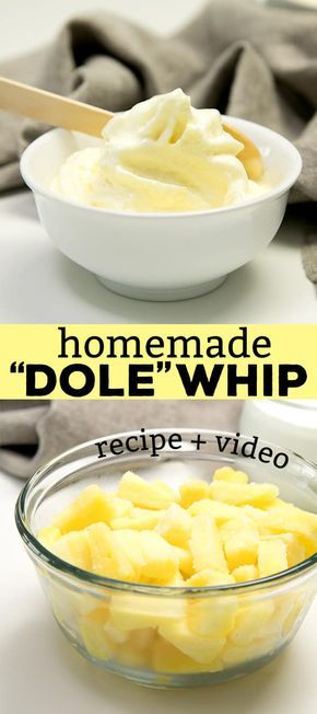 Dole Whip, the pineapple soft serve ice cream, has so many ingredients—and you have to travel to enjoy it. Make it at home instead, with just 2!