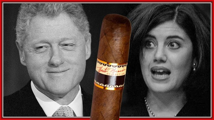 "Bill Clinton Being Asked About ""THE CIGAR"" By Special Prosecutor"