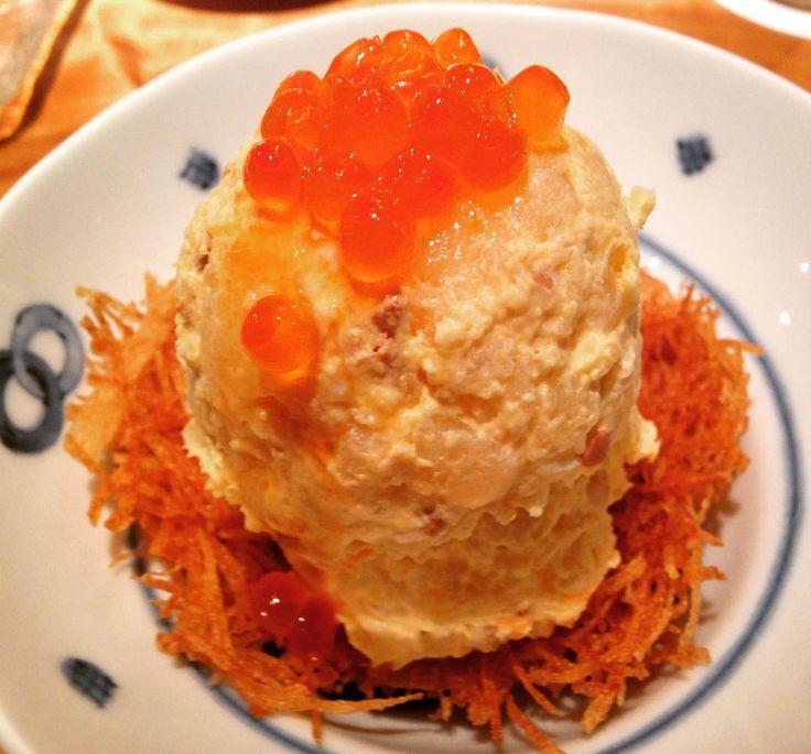 小料理バルに行ってきました。�� ポテトサラダを食べると、その店のレベルが分かると言われていますので、今日はポテトサラダを紹介します。 燻製卵の入ったポテトサラダ ほのかに燻製の香りがして、美味しかったです�� . I went to Japanese restaurant. This potato salad was really delicious ��  Smoked eggs inside. . . #potatosalad #ikura #smokedegg #japanesefood #japanesecuisine #japaneserestaurant #nagoya #foodgram #foodies #foodlovers #lin_stagrammer #delistagrammer #cookingram #foodiegram  #名古屋 #居酒屋 #バル #ポテトサラダ #いくら #燻製 #名古屋めし #夜ご飯 #和食 #国際センター #おいしい #おいしいもの #日本酒 #ビール #焼酎#バル…
