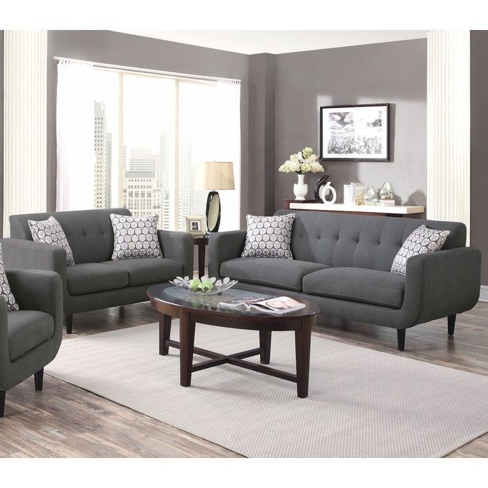 Buy Stansall Grey Sofa Loveseat Set Online For Living Room In Dallas Fort Worth Area At Best Prices With Furniture Nation No Credit Check Financing