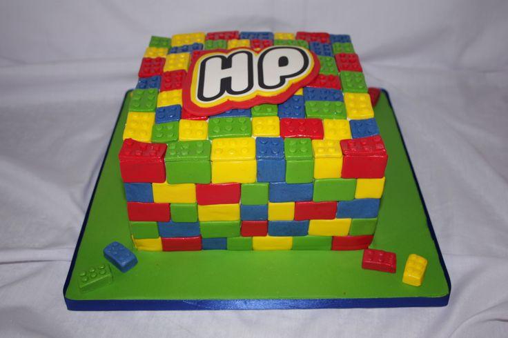 Lego Cake - www.suikerbekkie.co.za