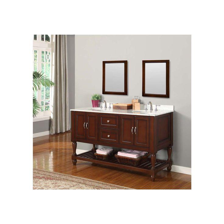 60 Inch Bathroom Vanity Double Sink Canada 16 best open shelf bathroom vanities images on pinterest | vanity