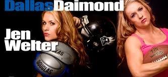 Jen Welter Dallas Diamonds