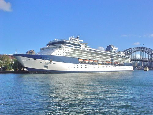 The Celebrity Millennium, Sydney Harbour, NSW, AU.