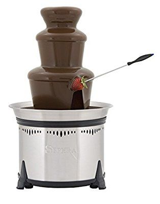 83 best chocolate fountain images on pinterest chocolate fountains sephra cf18l classic home fountain stainless steel fandeluxe Image collections