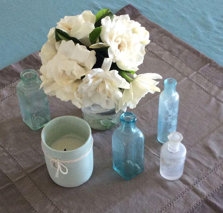 Gardenia centerpiece