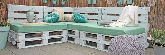 Homemade loungebank | Eigen Huis & Tuin