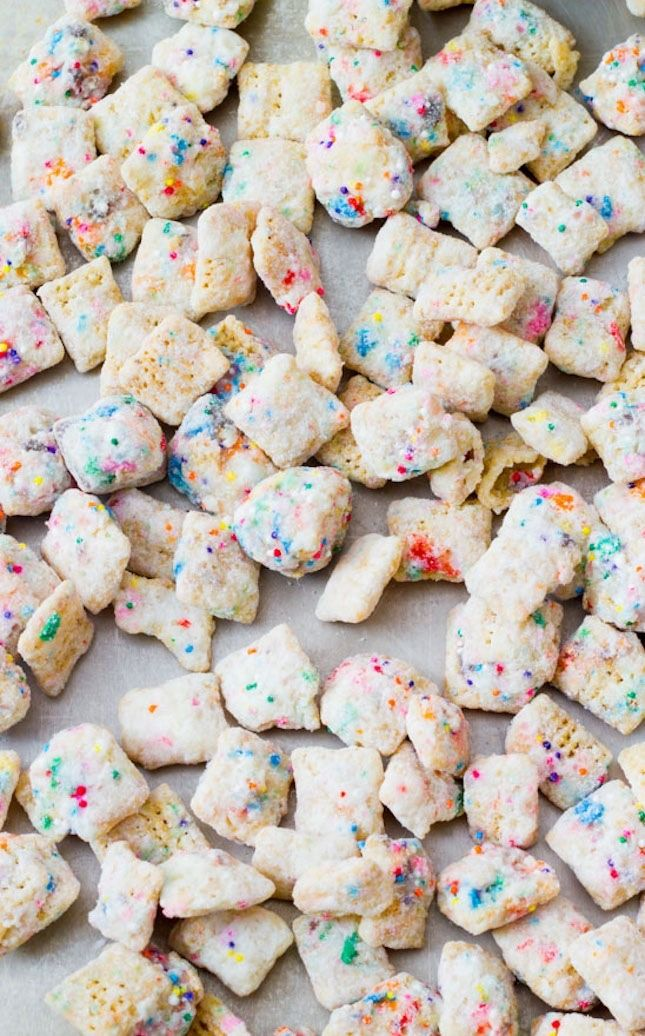 15 creative recipes, like Cupcake Puppy Chow, every Pisces will love.